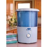 Black Friday Mini Countertop Spin Dryer Clothes Spin Dryer Portable Clothes Dryer